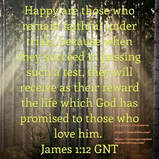 James ch 1 verse 12 GNT.2